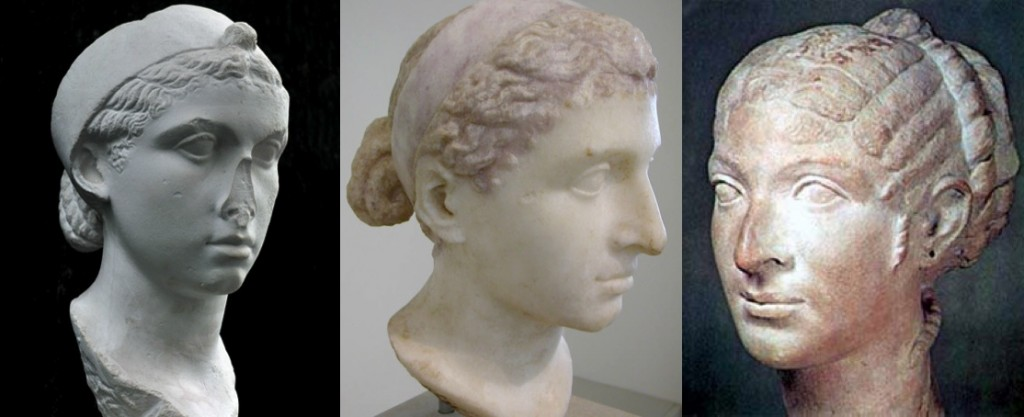 Busts of Cleopatra