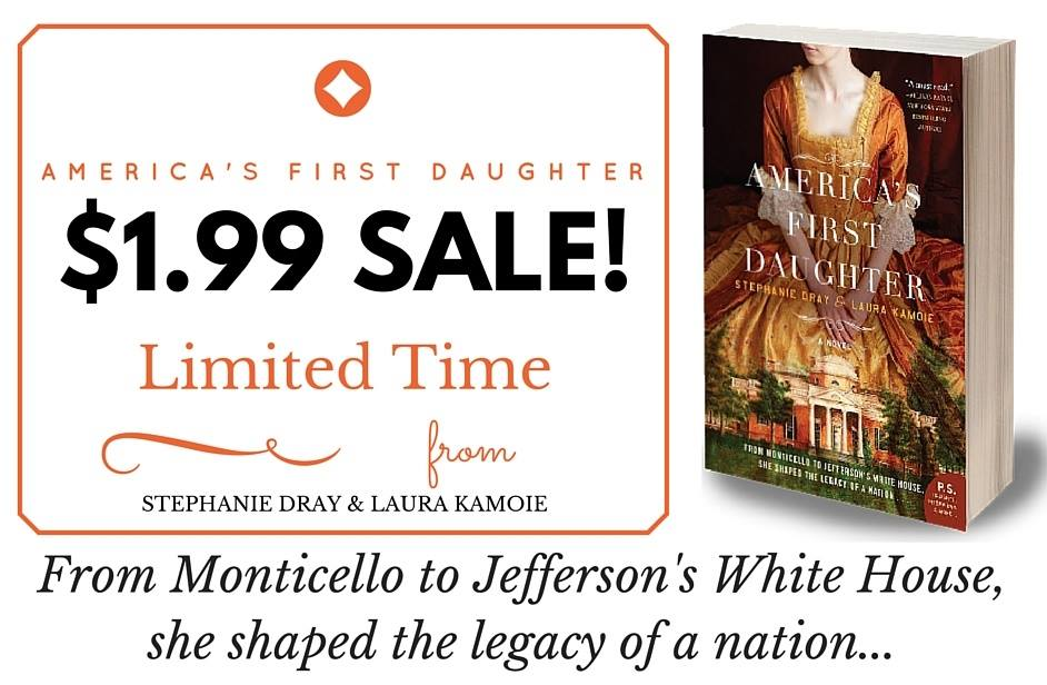 $1.99 Sale on America's First Daughter Ebook