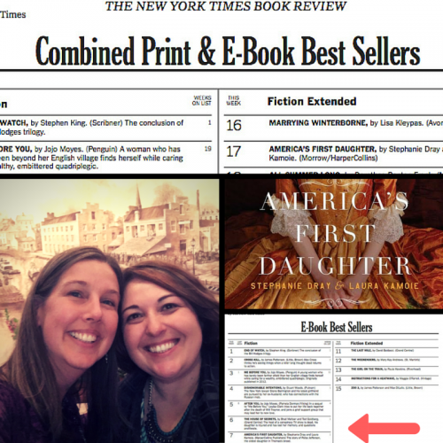 America's First Daughter is a NYT Bestseller!