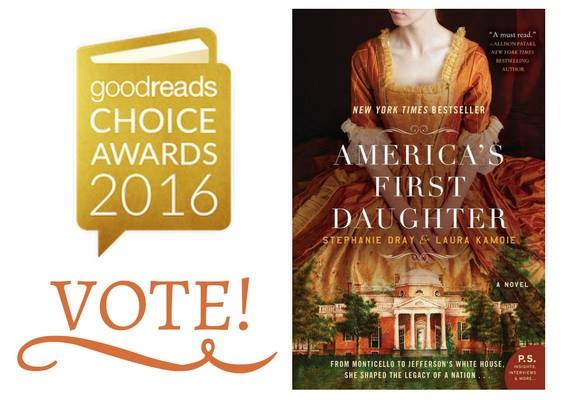 America's First Daughter Nominated for Goodreads Choice Awards