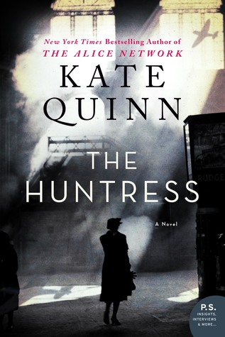 Kate Quinn's THE HUNTRESS releases today!!!!