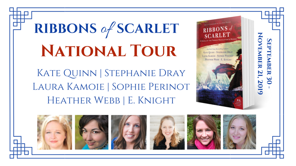 Ribbons of Scarlet National Tour with Stephanie Dray