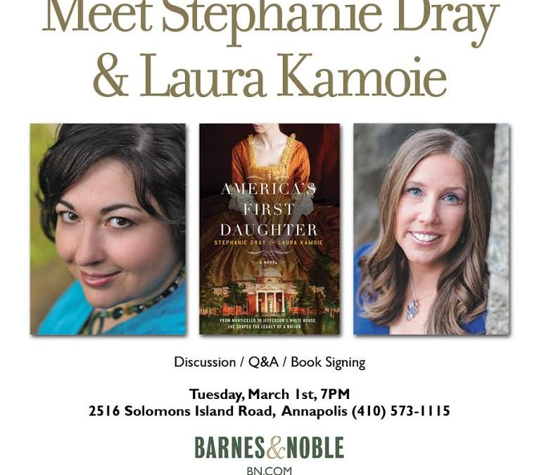 Talk & Signing of AMERICA'S FIRST DAUGHTER in Annapolis, MD