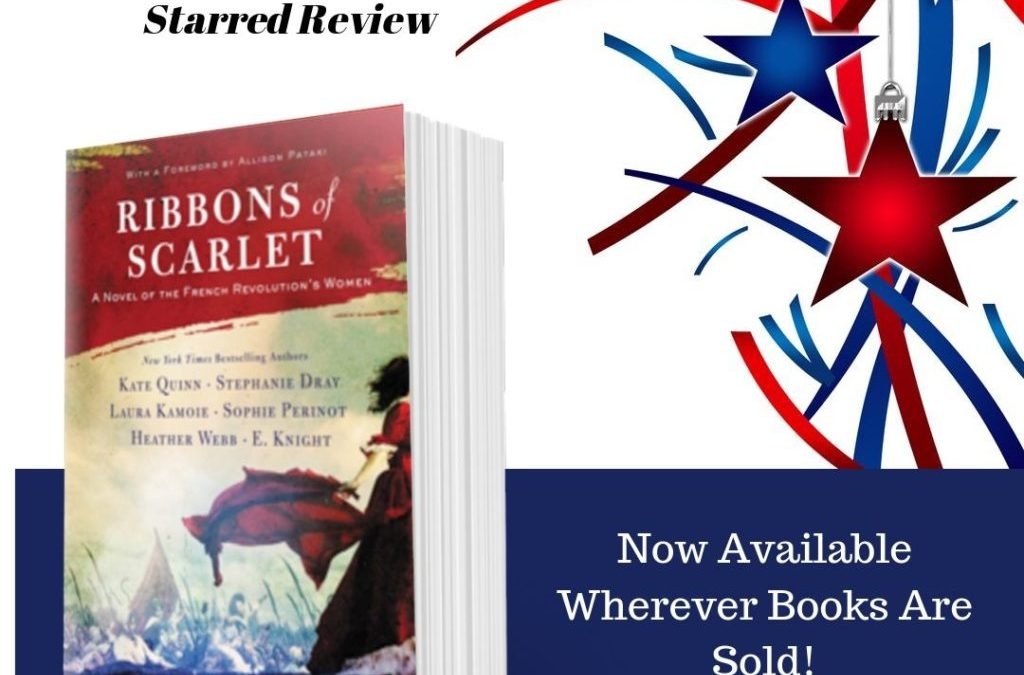 Ribbons of Scarlet is finally here!